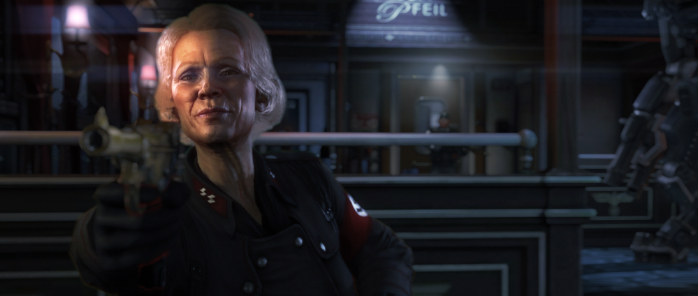 Wolfenstein: The New Order - Gunpoint