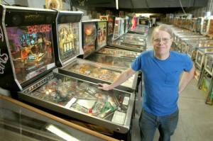 Pinball Hall of Fame: Tim Arnold, proprietor of the Pinball Hall of Fame