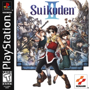 Suikoden II - Box Art