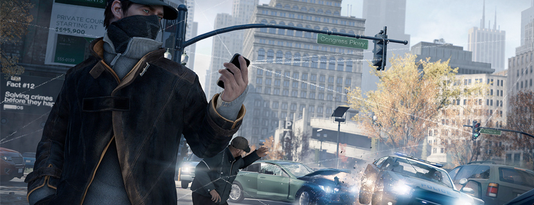 Watch Dogs - Car Wreck