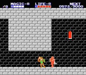 Zelda II: The Adventures of Link - Iron Knuckle