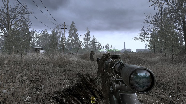 Call of Duty 4: Modern Warfare - All Ghillied Up