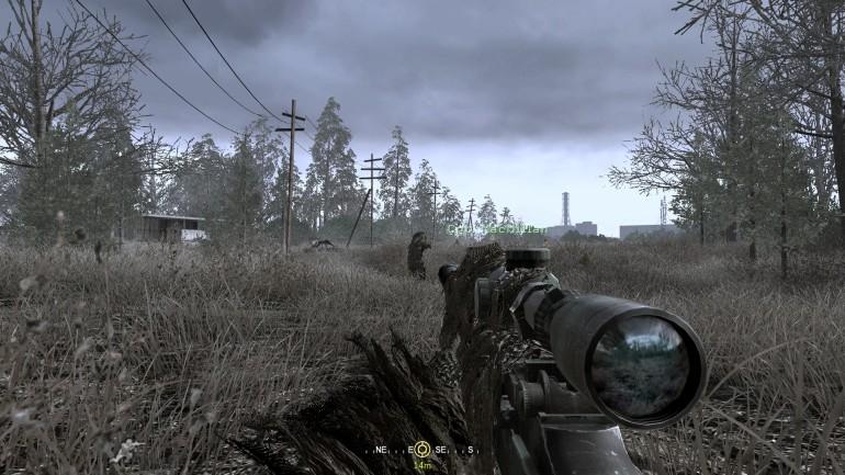 Call of Duty 4: Modern Warfare - All Ghillied Up
