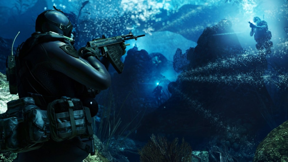 Call of Duty: Ghosts - Underwater