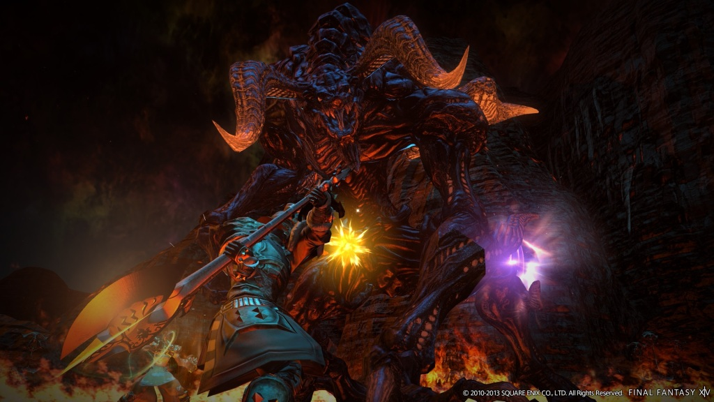 Final Fantasy XIV: A Realm Reborn - Ifrit 2