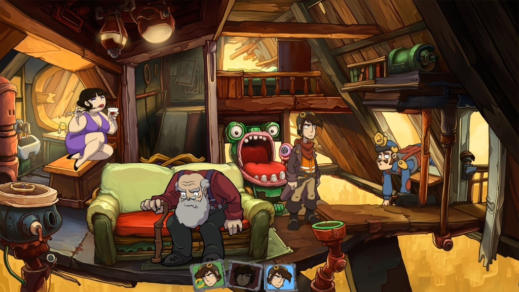 Goodbye Deponia Review - Characters