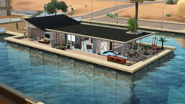 The Sims 3: Island Paradise - House Boat