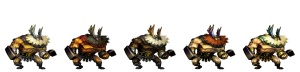 Dragon's Crown Dwarf outfits
