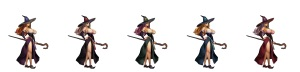 Dragon's Crown Sorceress outfits