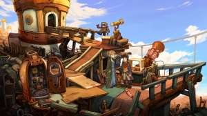 Deponia Review - Rufus and Toni