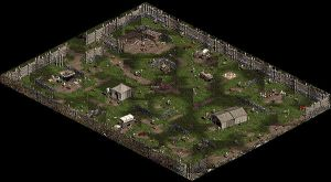 Diablo II - Rogue Encampment with Western Exit