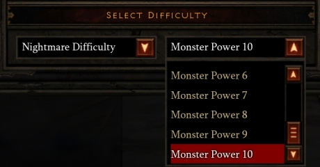 Diablo III - Monster Power