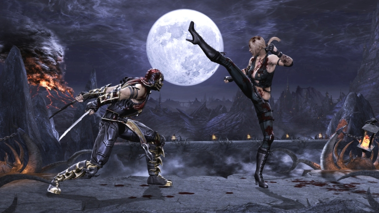 Mortal Kombat - Scorpion vs Sonya
