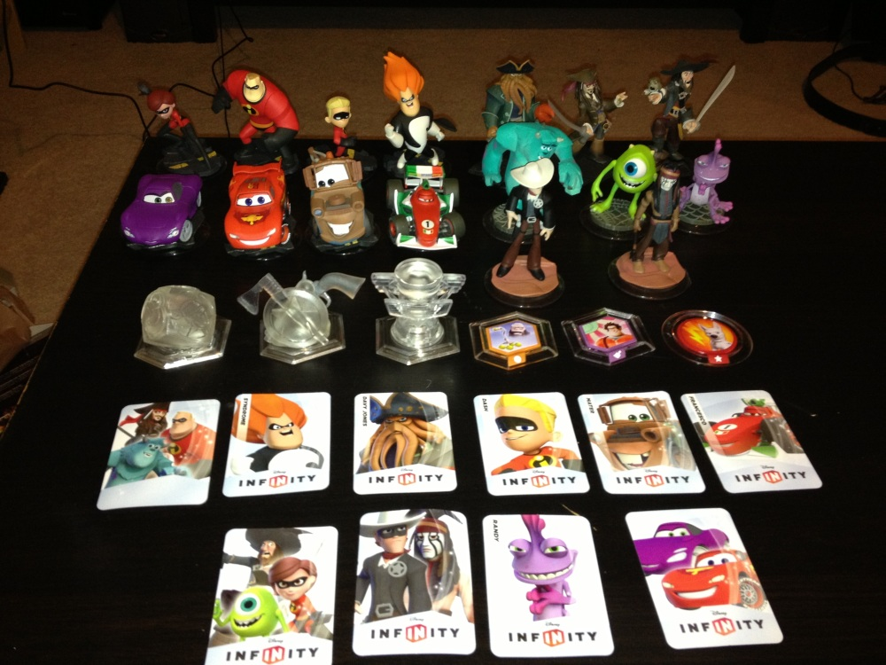 Disney Infinity - Alex's stash