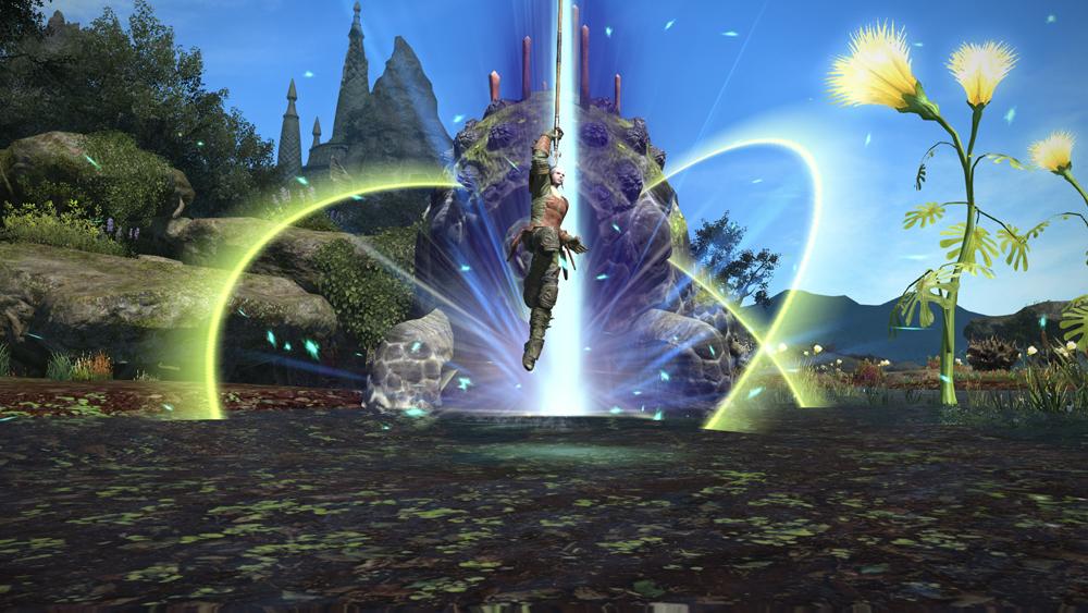 Final Fantasty XIV: A Realm Reborn - Ability