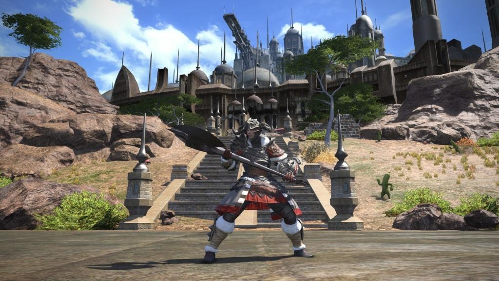 Final Fantasy XIV: A Realm Reborn - Cactaur