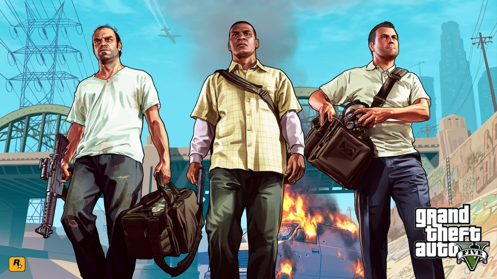 Top 10 Games of the Year 2013 - Grand Theft Auto V