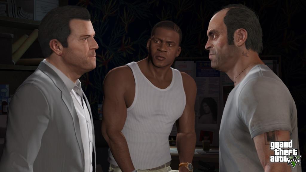 Grand Theft Auto V - The Crew