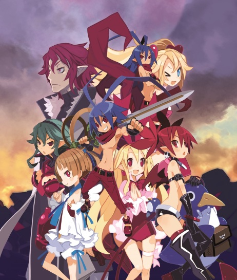 Disgaea D2: A Brighter Darkness - Character Art