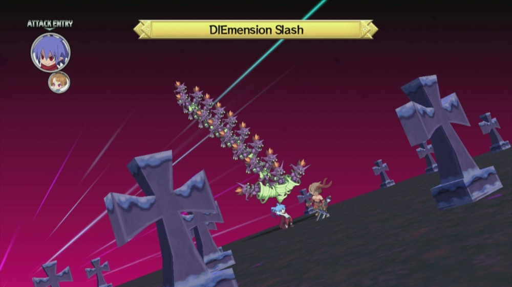 Disgaea D2: A Brighter Darkness - DIEmension Slash