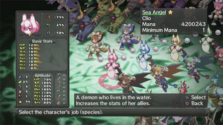 Disgaea D2: A Brighter Darkness - Sea Angel
