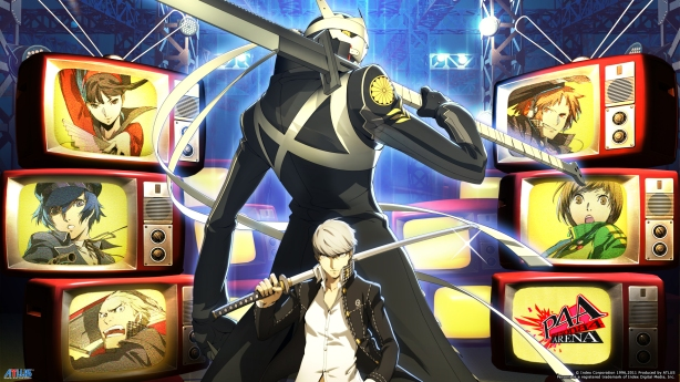 Persona 4 - Lots of TVs