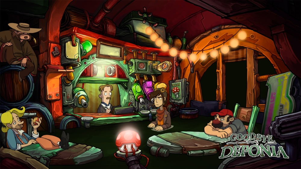 Goodbye Deponia Review - Donkey Kong