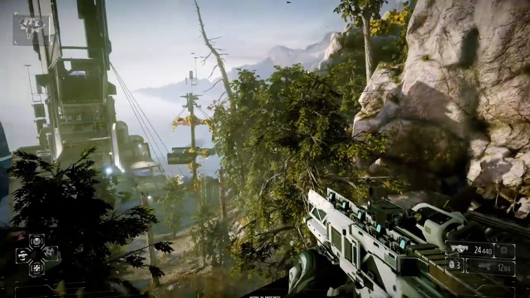 Killzone Shadow Fall - Forest