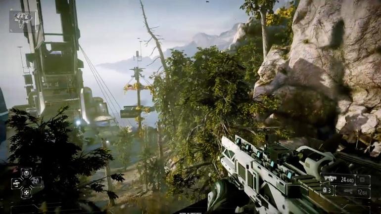 Killzone Shadow Fall - Forest