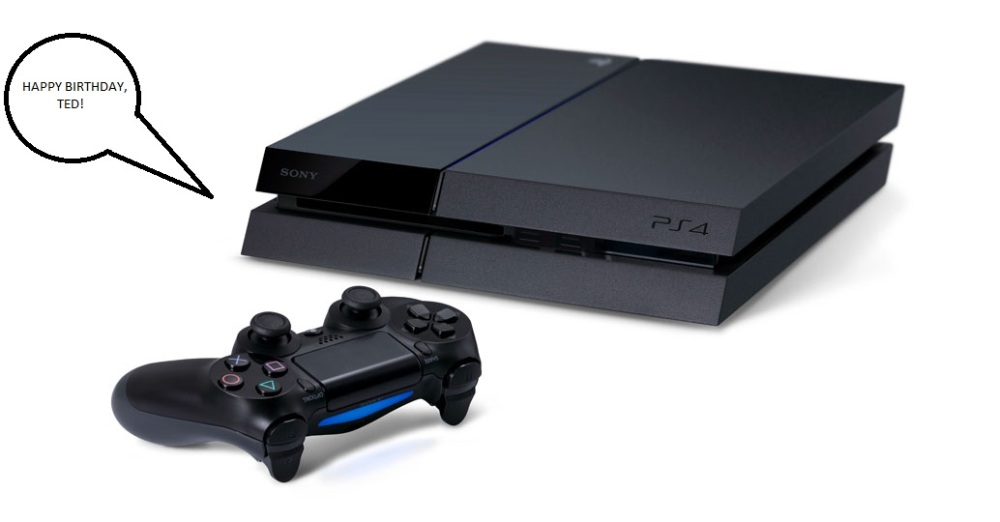 PlayStation 4 - Happy Birthday, Ted