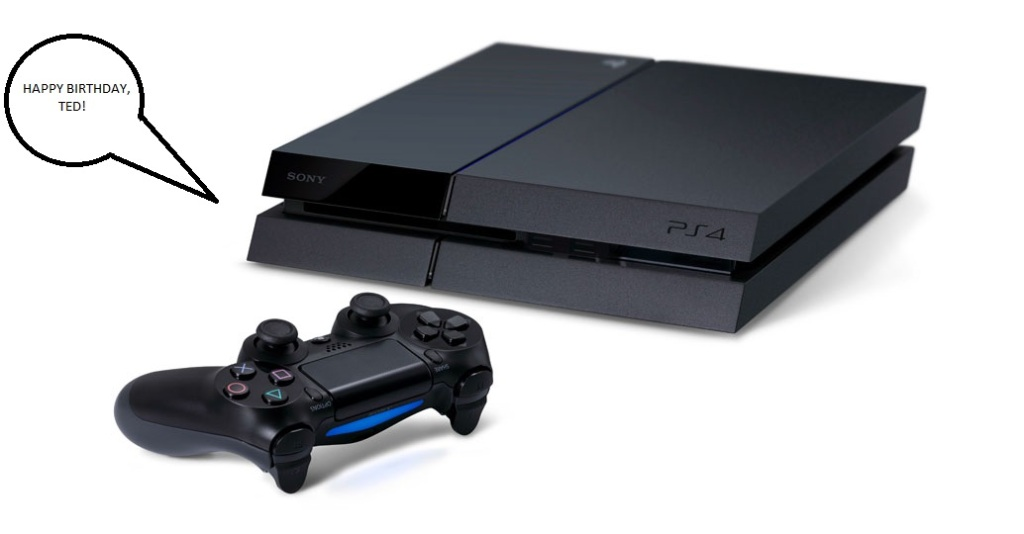 PlayStation 4 - Happy Birthday, Ted