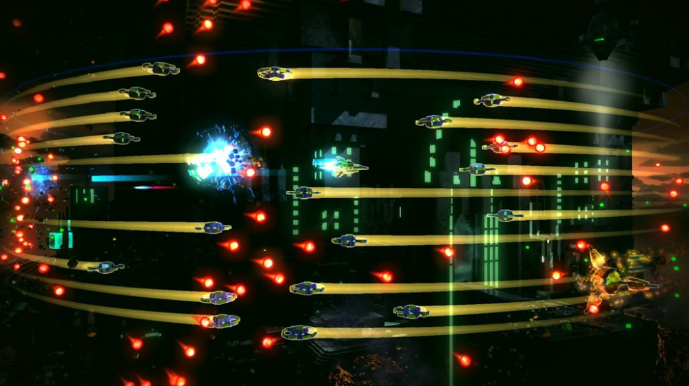 Resogun Review - Enemies