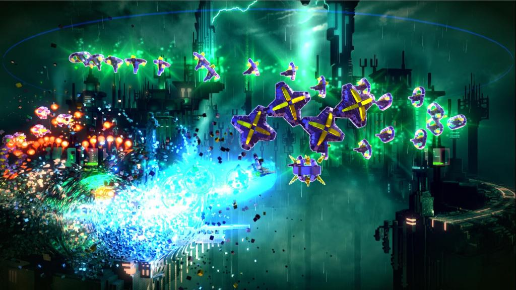 Resogun Review - Keepers