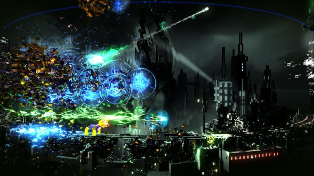 Resogun Review - Overdrive