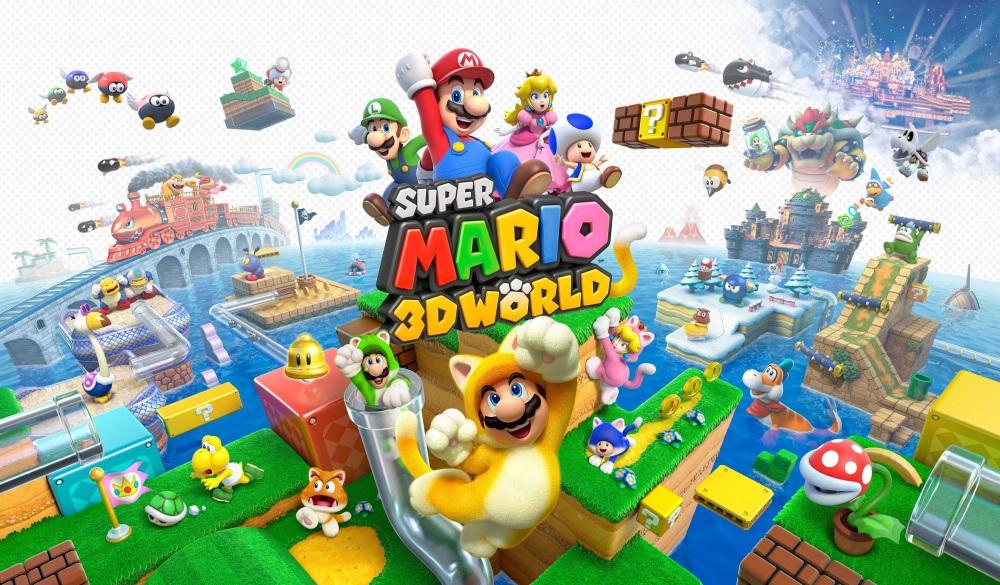 Super Mario 3D World - Artwork