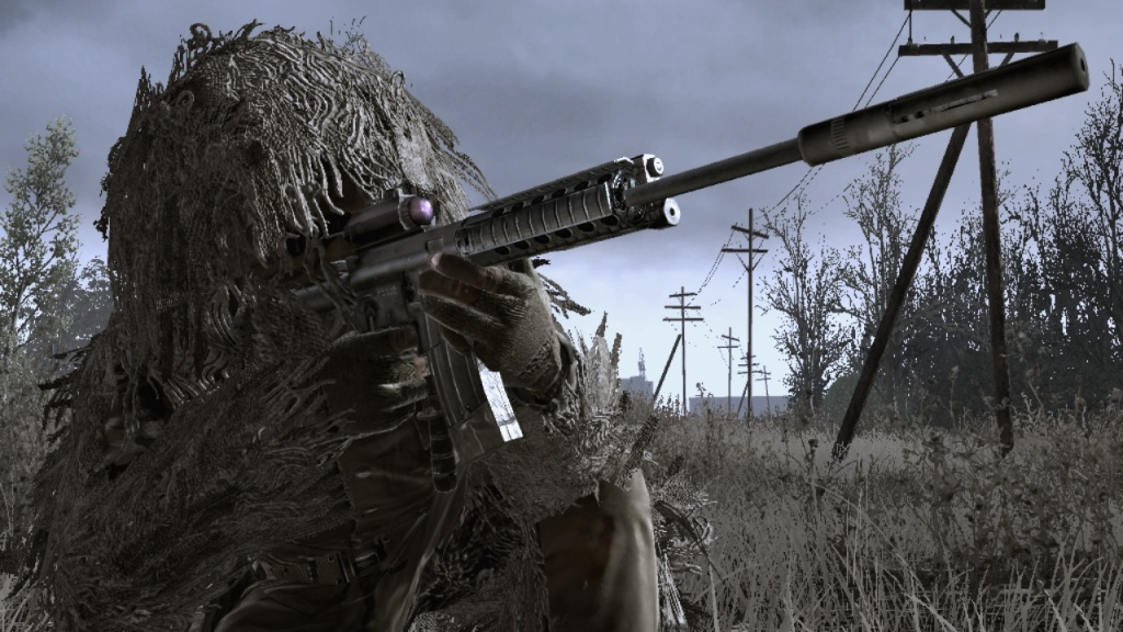 Call of Duty 4: Modern Warfare - Ghillie
