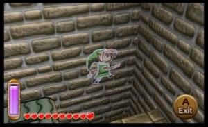 The Legend of Zelda: A Link Between Worlds Review - Drawing Link