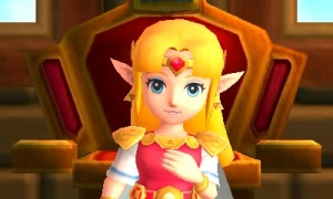 The Legend of Zelda: A Link Between Worlds Review - Zelda