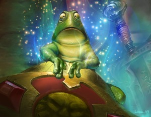 Hearthstone: Heroes of Warcraft Preview - Frog Art