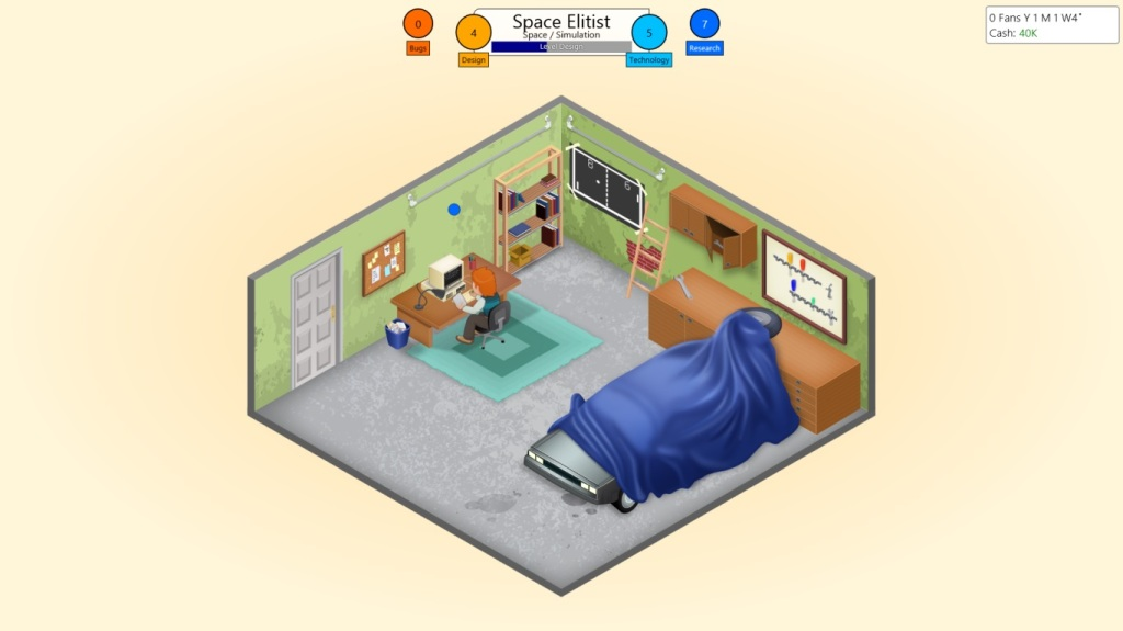 Game Dev Tycoon Review - Garage