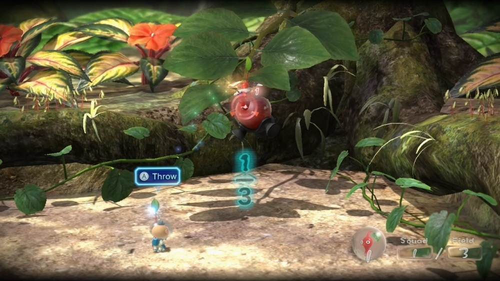 Pikmin 3 Review - Control Issues