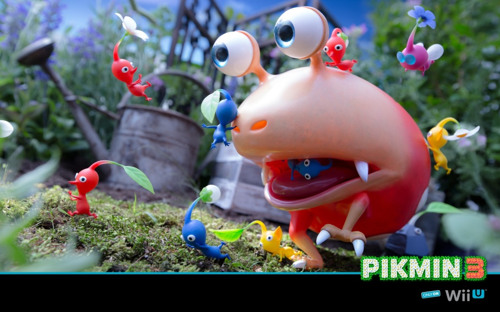 Pikmin 3 Review - Om Nom Nom