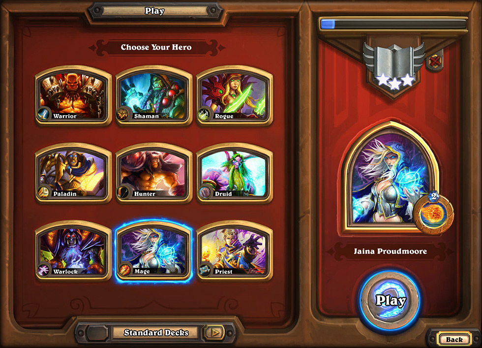 Hearthstone: Heroes of Warcraft Preview - 9 Classes