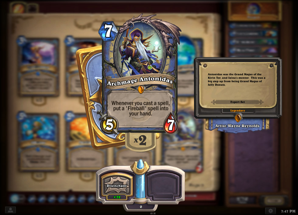 Hearthstone: Heroes of Warcraft Preview - Legendary