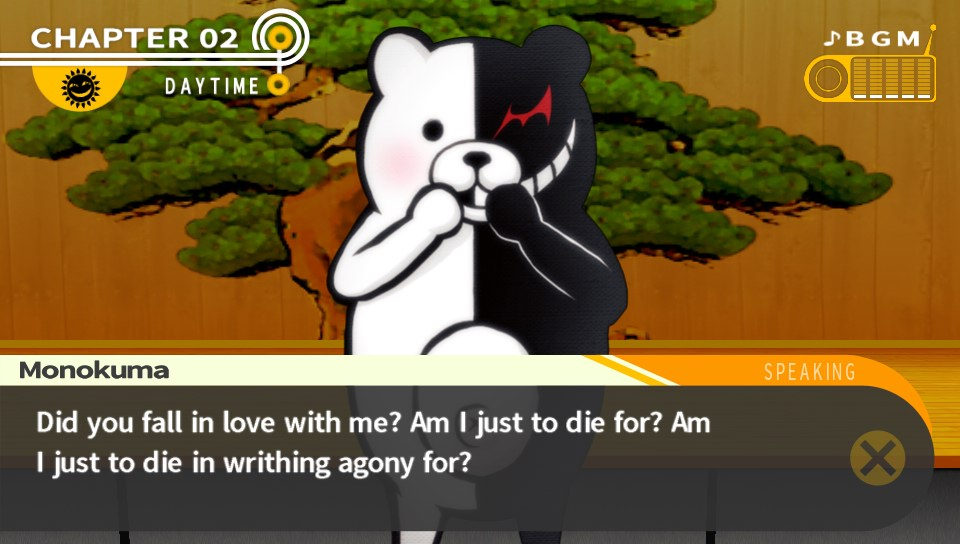 Danganronpa: Trigger Happy Havoc - Monokuma is to die for