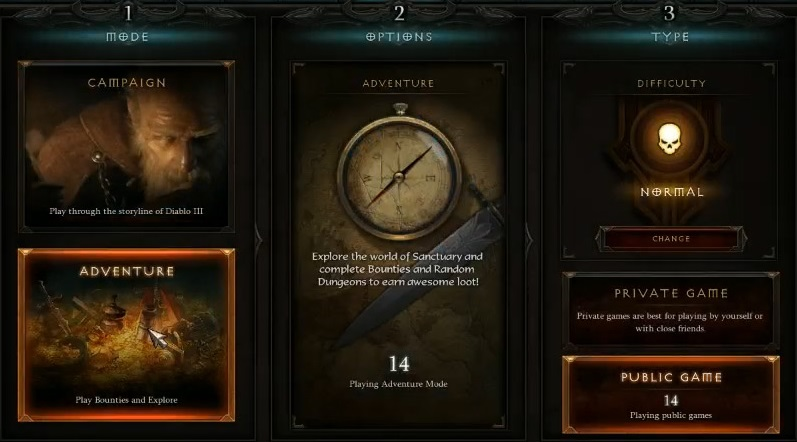 Diablo III: Reaper of Souls - Adventure Mode