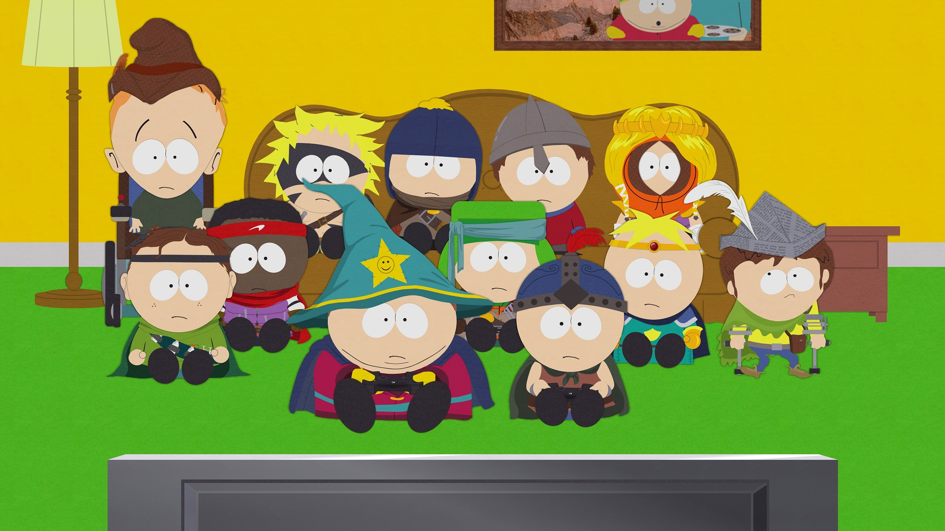 south park games of thrones