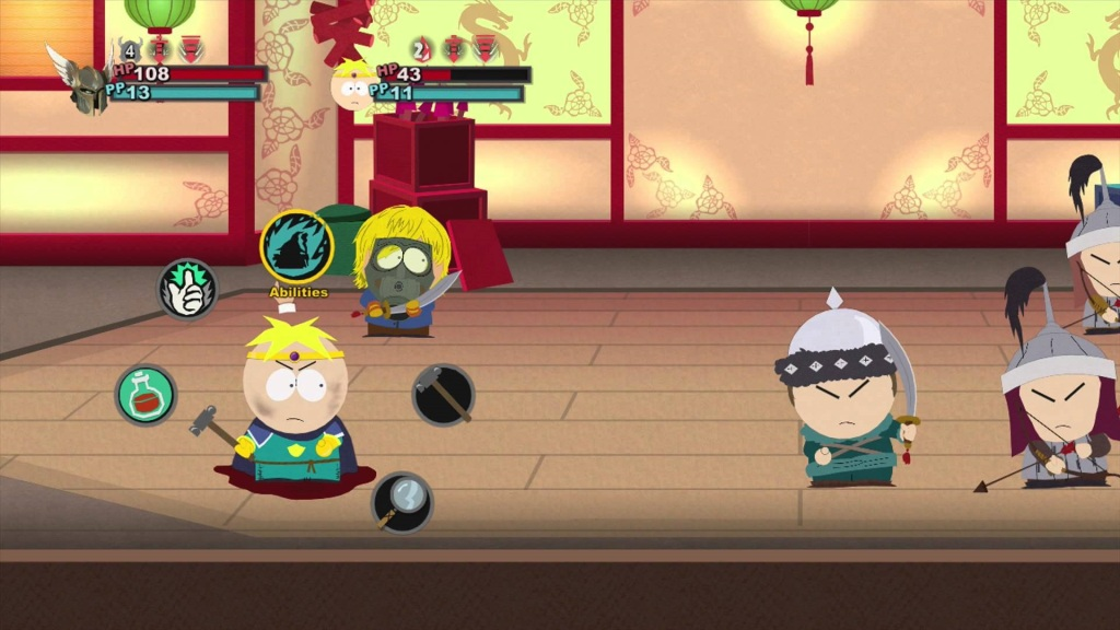 South Park: The Stick of Truth - Combat