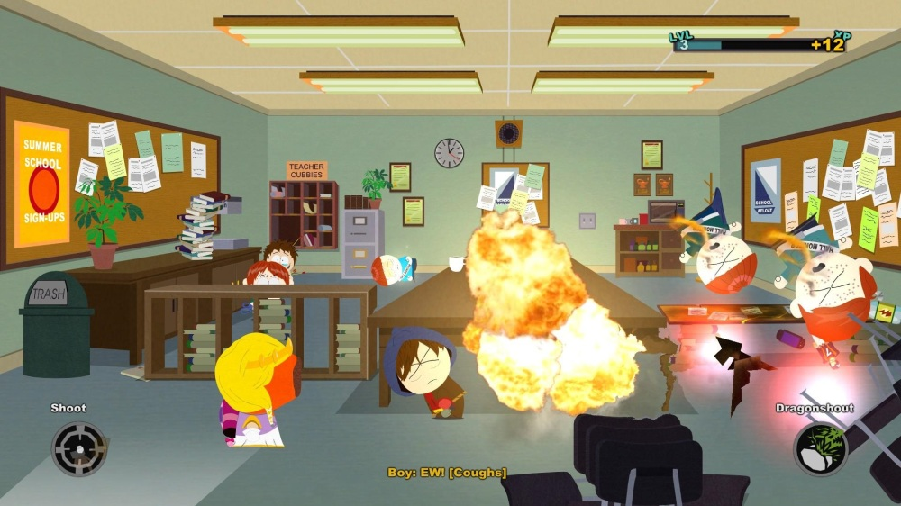 South Park: The Stick of Truth - Fart Explosion