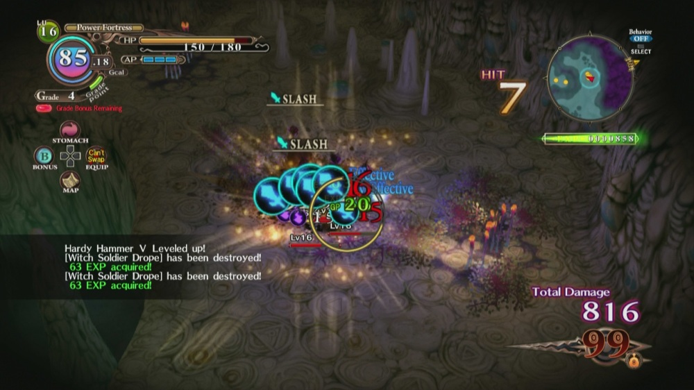 The Witch and the Hundred Knight Review - Combat 2